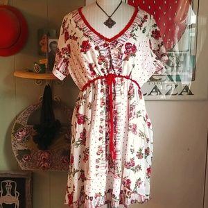 Joe Browns Floral Dreds w/vintage flair